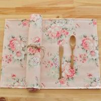 스칼렛 방수식탁매트(핑크)