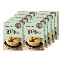 (한박스/10개입) 큐원 찰호떡믹스 (프라이팬용)