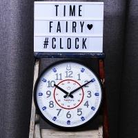 정품 타임페어리 교육용 시계-블랙