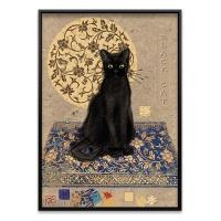 1000조각 직소퍼즐▶ 검은 고양이 (HE29719)
