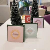 아이씨엘 크리스마스 카드 - 라미앤느 샤인 4세트