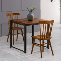 아카시아 2인 식탁+의자800 세트 FN702-10