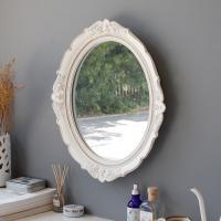 로망스 엔틱 화이트 거울