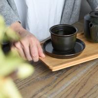 [킨토] LEAVES TO TEA 컵 앤 소서