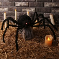 할로윈 대형 움직이는 거미