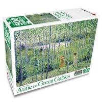 빨강머리앤 퍼즐 자작나무 숲의 녹색바람 500 피스 직소퍼즐