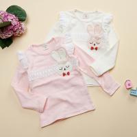 [보니스텔라] 17SS104 토끼 레이스 날개 티셔츠
