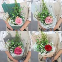 카네이션 싱글 꽃다발 (7color)