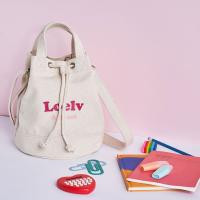 [로엘브]LOELV Attract Label Cylinder Cross Bag