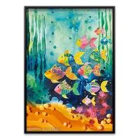 1000조각 직소퍼즐▶ 오색 물고기 (HE29779)