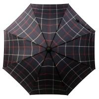보그 일반형 자동 장우산 - 솔리드 체크 옴므