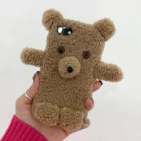 아이폰케이스 7 8 x xr xs 11 pro max 곰돌이 양털