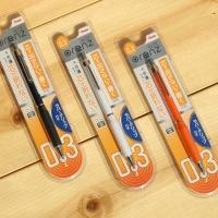 [Pentel] 부러지지 않는 극세식 샤프펜슬..일본 펜텔 0.3mm 오렌즈 러버그립
