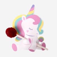 레인보우 마법의 유니콘 막대사탕 페이퍼 (10개)