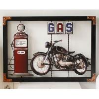 [2HOT] 오토바이 볼록 액자 GAS