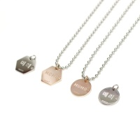[ Let me love you ] Crystal Pendant 인식표