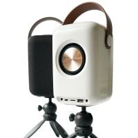 사운드베슬 TWS 리얼우퍼 블루투스스피커+삼각대 FD-SV01