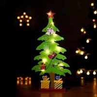 퓨어디 원목 크리스마스 트리(그린)