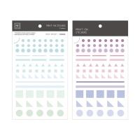 Miccudo 프린트-온 스티커 Ver.2 (3. Geometric)