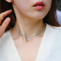 i_n40 - stone rope necklace