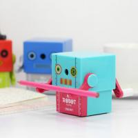 [최저가]  KC인증 감성 로봇디자인 안전 연필깎이 Mr. Robot