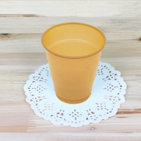 파티용 칼라 컵-골드(10개입)