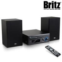 브리츠 CD 오디오 블루투스 스피커 BZ-MC1515B (CD 플레이어 & USB메모리 재생 / FM 라디오 / 알람 & 타이머 / AUX 단자 / 리모컨)