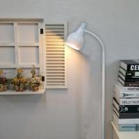 [LAMPDA](화이트)스프링플로어 장스탠드