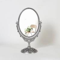 엔틱메탈 스텐딩 장미 거울 미디움-3색상