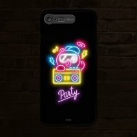 iPhone7 8 LINE FRIENDS NEON PARTY