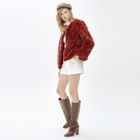 LIZ cocktail jacket_red