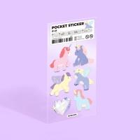 모트모트 포켓 스티커 - 유니콘