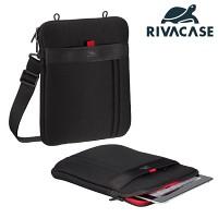 10형 태블릿PC 가방 RIVACASE 5109 (아이패드 & 갤럭시탭 등 호환 / 분리형 핸드 스트랩 / 액세서리 수납 공간 / 숄더백)