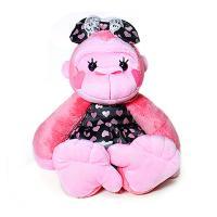 러블리 고릴린 인형 M 핑크-30cm