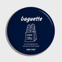 [어프어프] 손거울 Baguette-navy