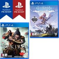 PS4 세키로 + 호라이즌 제로던 컴플리트에디션 더블팩