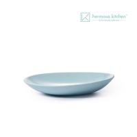 [에르모사키친] 컬러머드 9인치 플레이트 블루 23cm