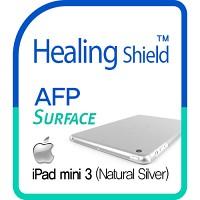 [힐링쉴드] 아이패드 미니3(iPad Mini3) AFP 올레포빅 액정보호필름 1매+내츄럴 실버 후면보호필름 1매(HS150547)