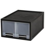 [FINE SYSTEM] 화인 블랙스탭서랍박스 40(트윈1단)