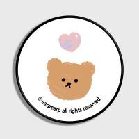 Dot love and bear-white(스마트톡)