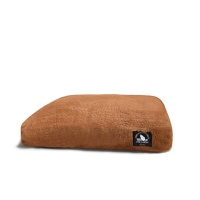 BROWN FUR BED