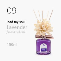 Lead my soul 플라워 디퓨저 150ml - 라벤더 (Lavender)
