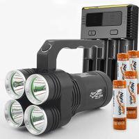 LED 써치라이트 세트 4E85L-i4 224 손전등 8500루멘