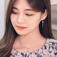 폴앤조이 아이링 92.5 올실버 목걸이 (1color)