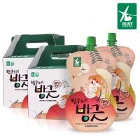 방구소리 방긋 2BOX(30팩) 10억유산균 유기농당근
