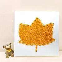 꼬마 플라타너스잎 스트링아트 만들기 패키지 DIY
