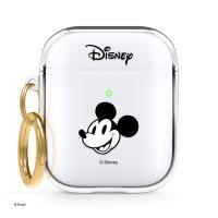 [한정판] 정품 디즈니 에어팟1,2 클리어 행 케이스