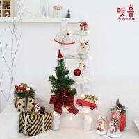 앳홈 자작나무 4단 사다리 크리스마스 트리