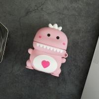 에어팟프로 커플 아기공룡 실리콘케이스/216핑크_프로