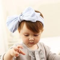 [인디고샵] 베이비블루 그레이스 아기 헤어밴드